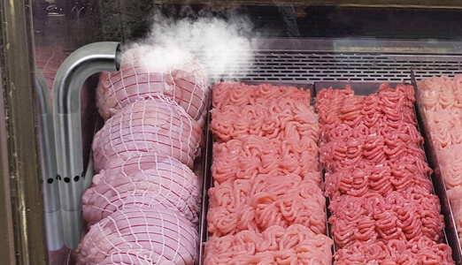 HydraFog™ increasing humidity in meat case