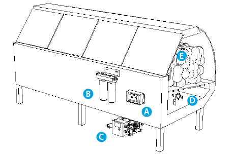 Chiller System Diagram additionally Solar Refrigeration Ppt also Heat Pump Reversing Valve Schematic additionally Article together with Kegerator Conversion Kits Cid 73. on refrigeration system components